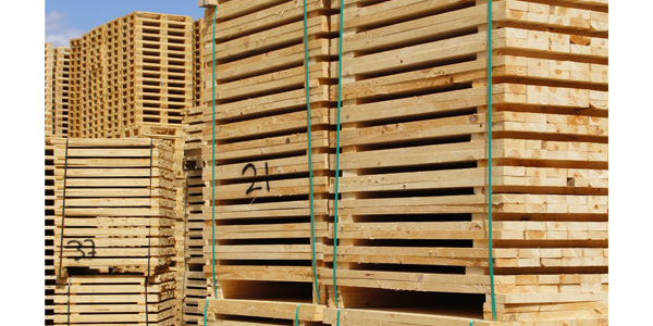 Timber cut to size (pallet elements)